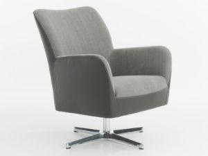 Bolero fauteuil met draaivoet