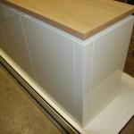 dressoir wit met hout