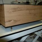tv kast oud hout