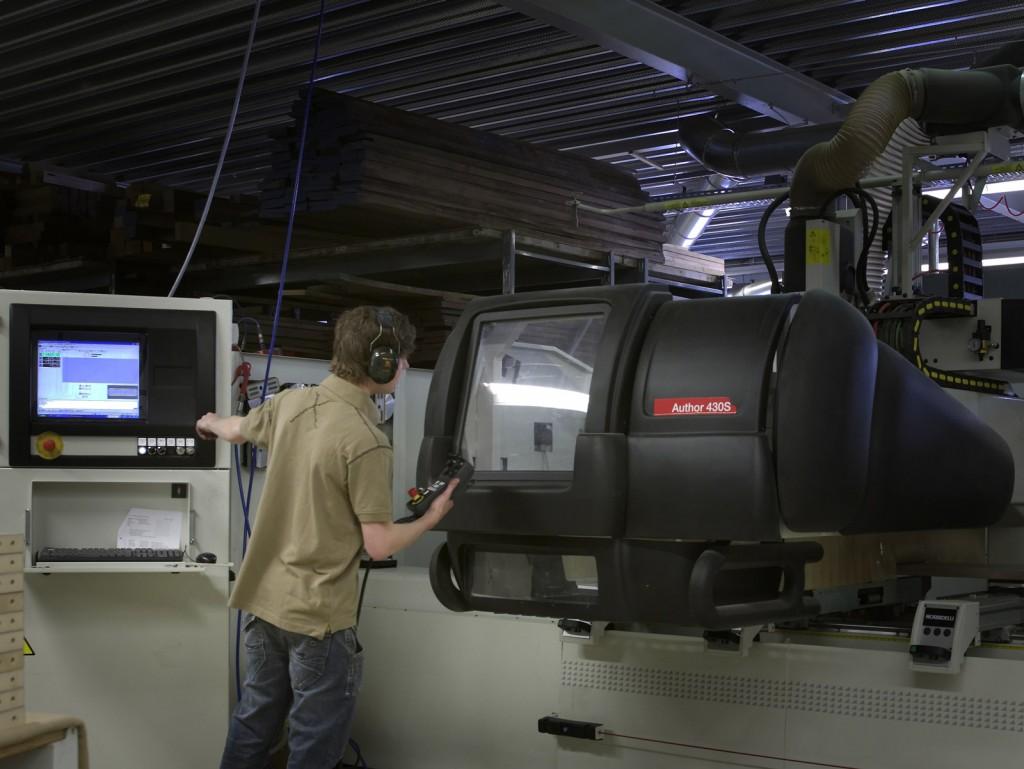 Bewerken met de CNC machine