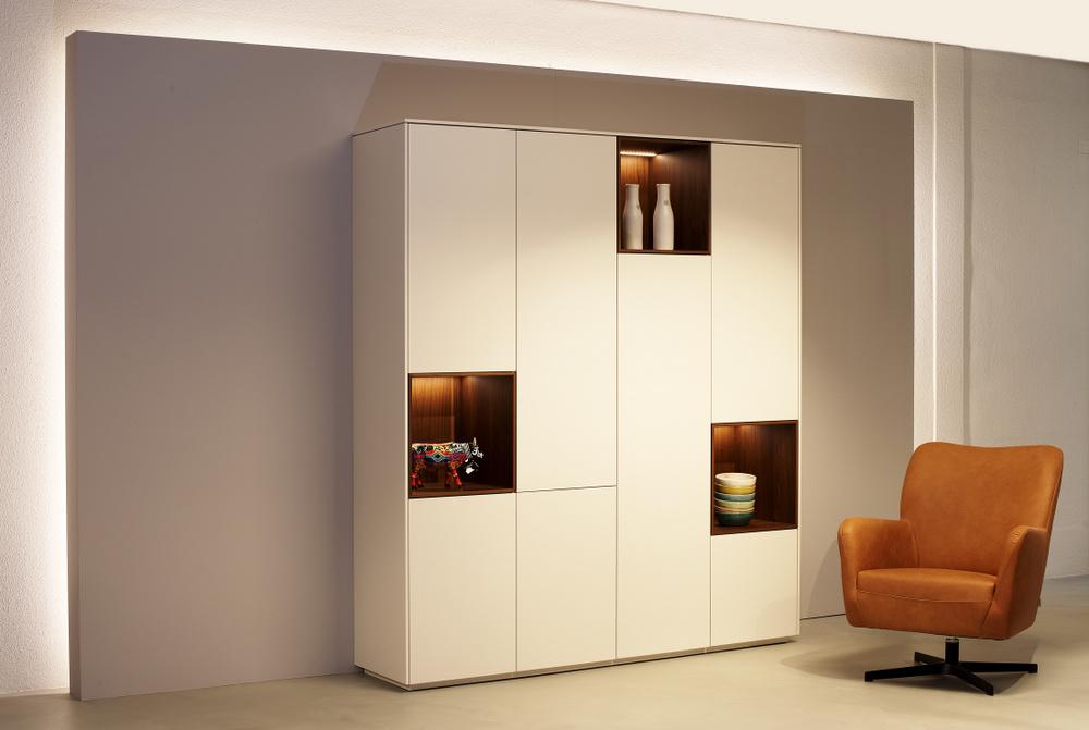 Kast Met Vakken : Connect open vakken kast kees verhouden meubelen oirschot