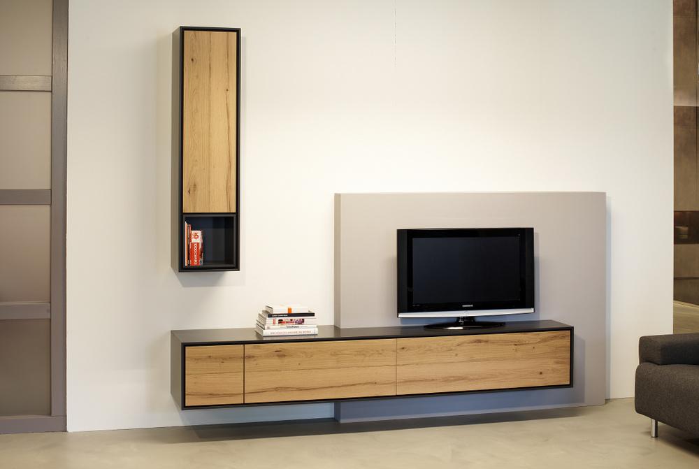 Zwevend TV meubel op maat