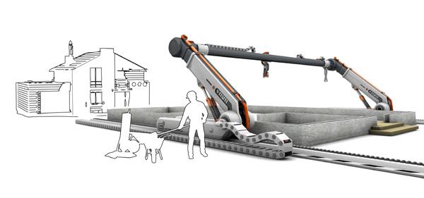 3D-geprint huis in minder dan 24 uur gebouwd