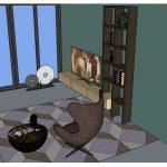 TV kast met etagere Kees Verhouden Meubelen