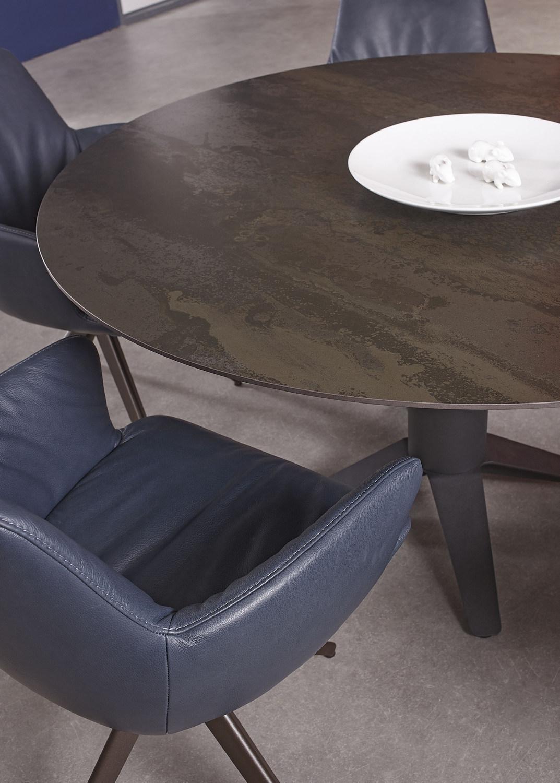Eetkamertafel met Dekton blad