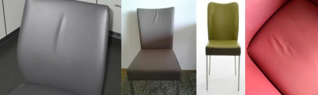 Producteigenschappen van beklede stoelen en fauteuils
